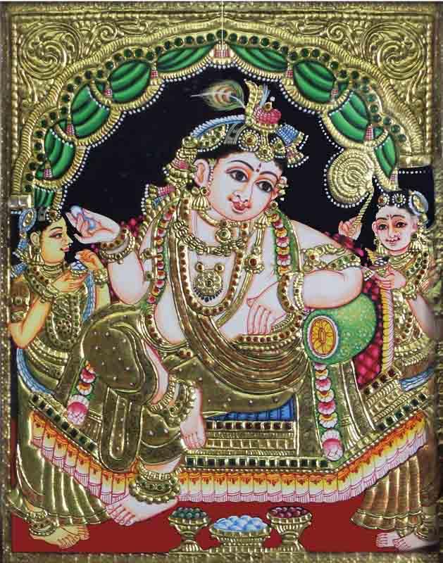 Balkrishna Tanjore Painting
