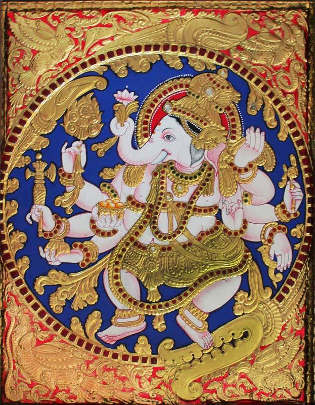 Nartana Vinayaka Tanjore