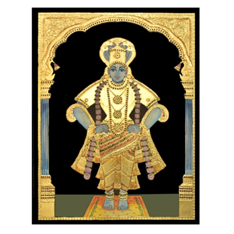 Vithala Krishna Tanjore Painting