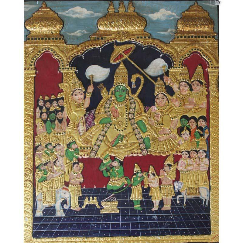 Lord Rama Darbar Tanjore