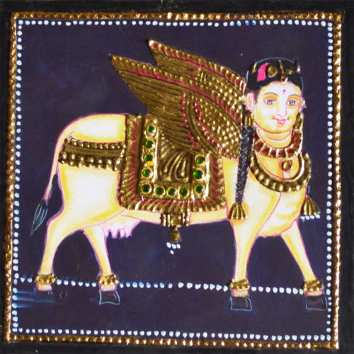 Kamdhenu Tanjore Painting
