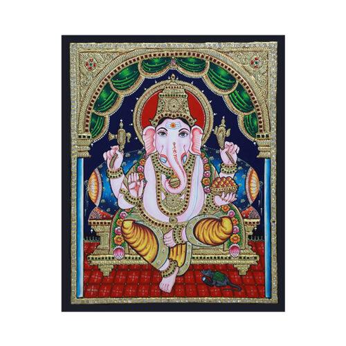 Buy Ganpati Tanjore Painting Online