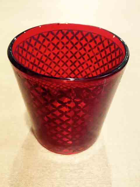 Red Glass Candle Light Holder Online Shopping
