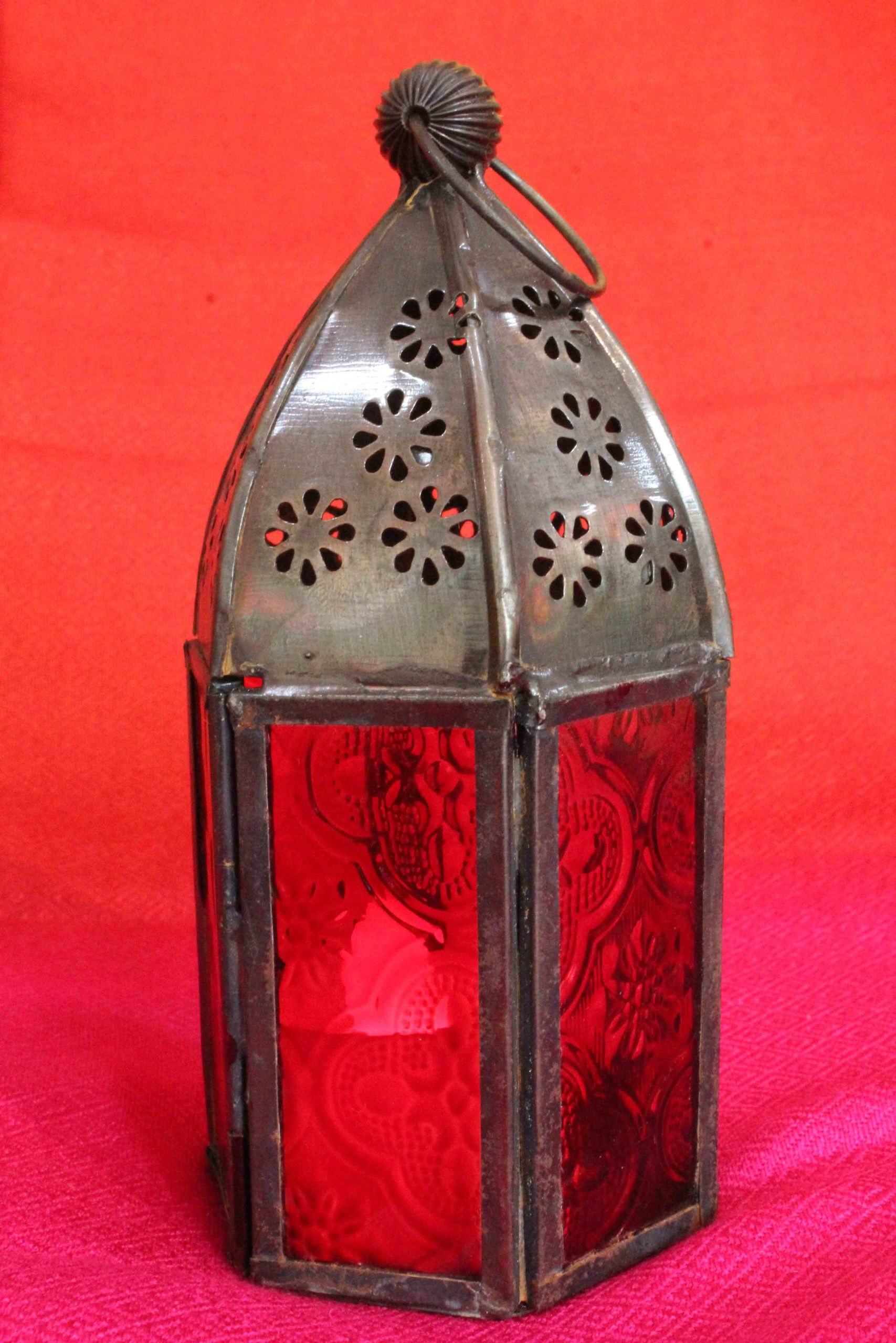 Red Hanging Candle Light Holder Online Shopping