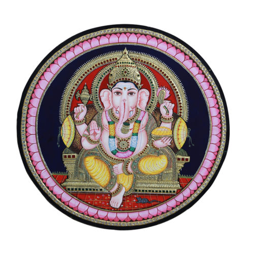 Buy Ganesh Tanjore Painting Online
