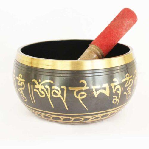 Buy Om Singing Bowl Online Indian Handicrafts