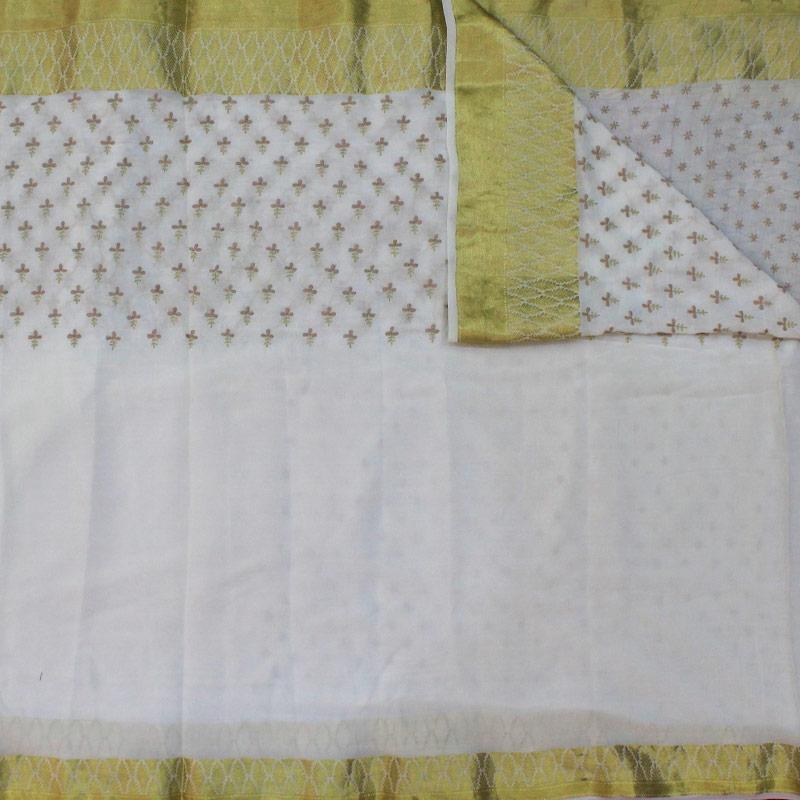 Crepe Silk Chikankari saree-3018