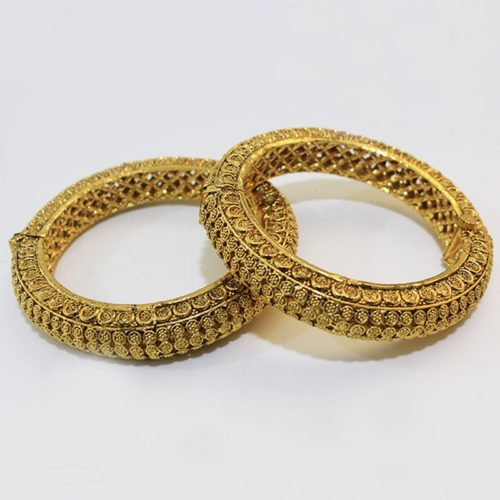 Traditional Jewellery Gold Plated Bangles for Women-0