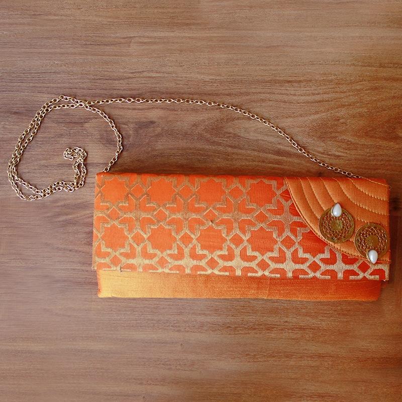 Banarasi Clutch Bag-0