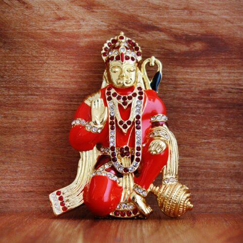 Hanuman Metal Statue-0