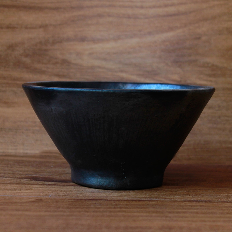 Black Pottery Bowl-0