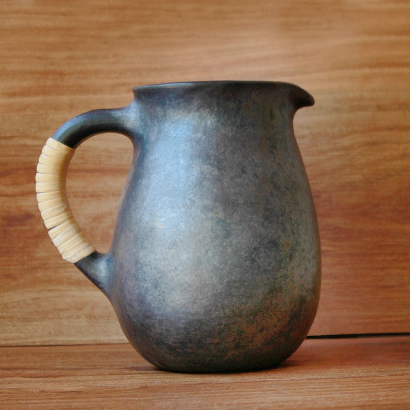 Black Pottery Jug-0