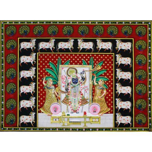 Gopashtmi Shreenath Ji Pichwai Painting-0