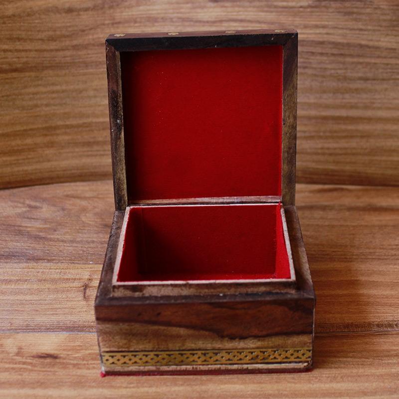 Tanjore handmade wooden box