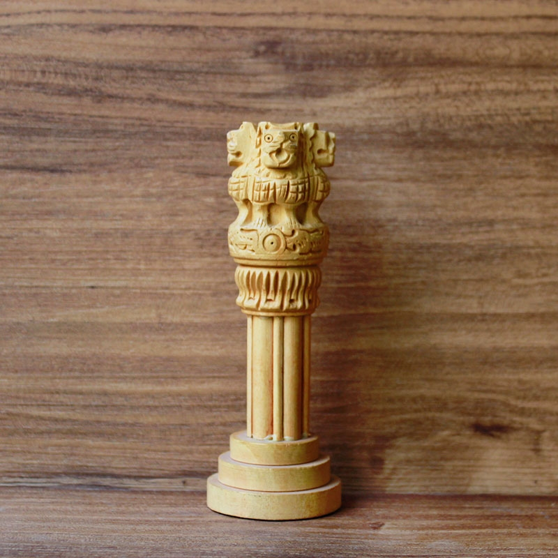 Wooden Ashoka Pillar (Small)-0