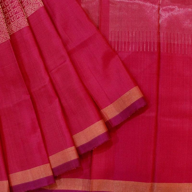 Satyam Param Dhimahi Kanchipuram Saree-0