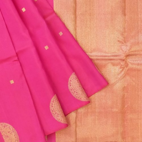 Royal Rani Pink Kanchipuram saree-0