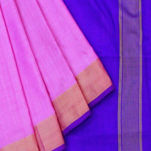 Baby Pink Uppada Saree-0