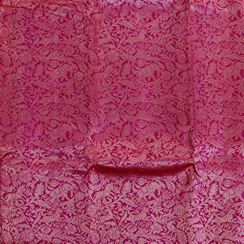 Pink Shikargarh Kanchipuram Saree-5665
