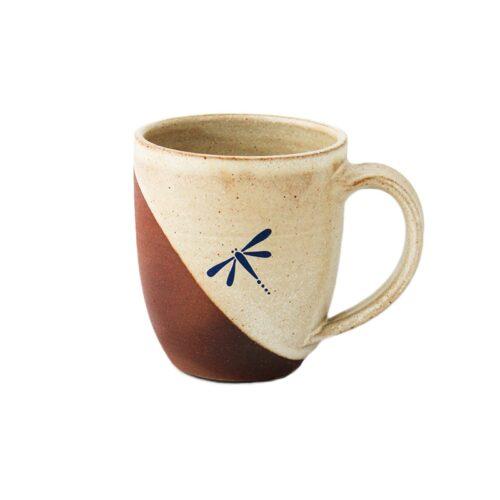 Ceramic Mug In Dual Color Tone-0