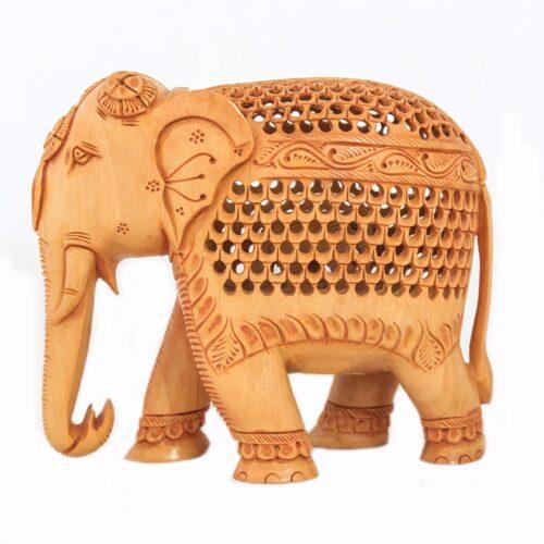 Wooden Elephant-0