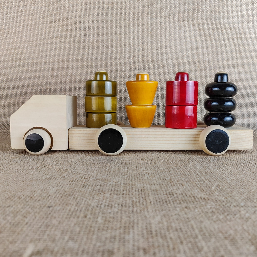 Wooden Truck Puzzle-8477