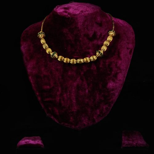 Gold-Plated Silver Necklace-0