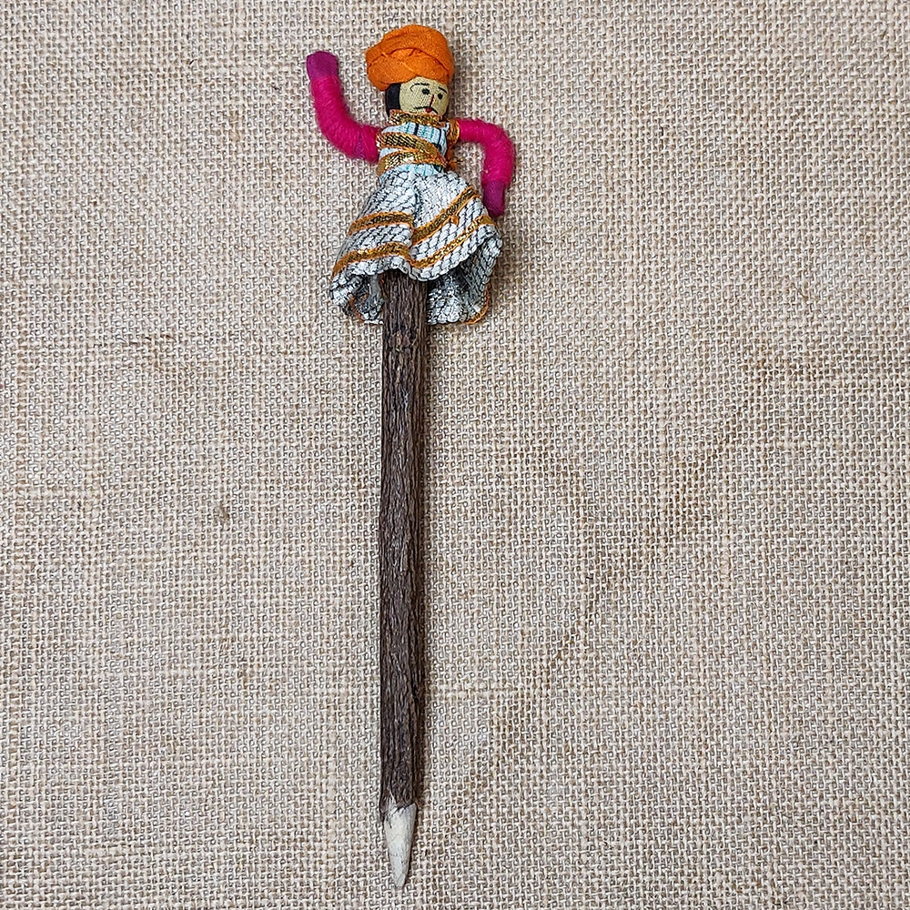 Dancing Man (Orange turban) Pencil-0