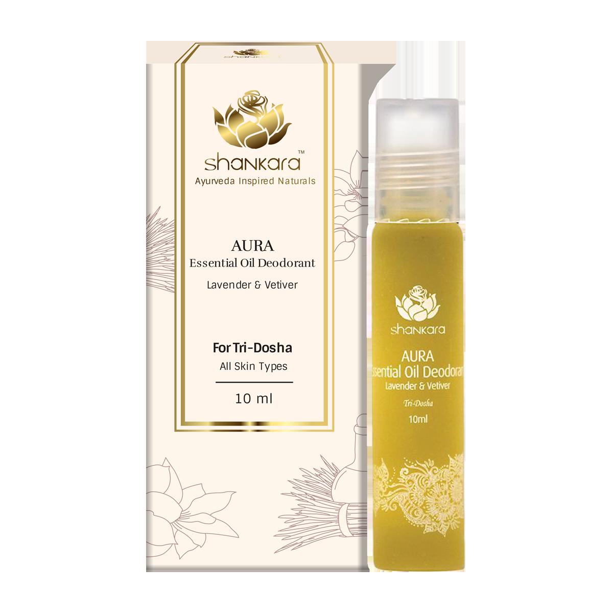 Aura Essential Oil Deodorant - Lavender & Vetiver-0