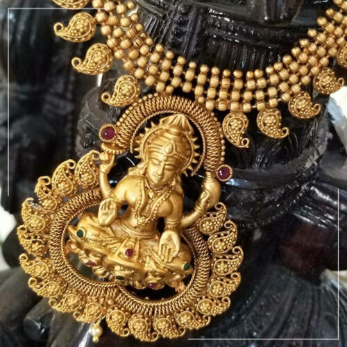 Silver With Gold Plating Jewellery