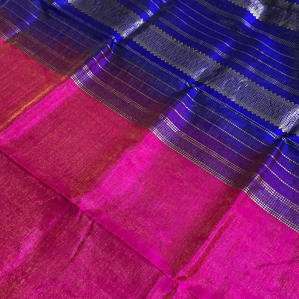 Kanchipuram Silk Cotton Saree