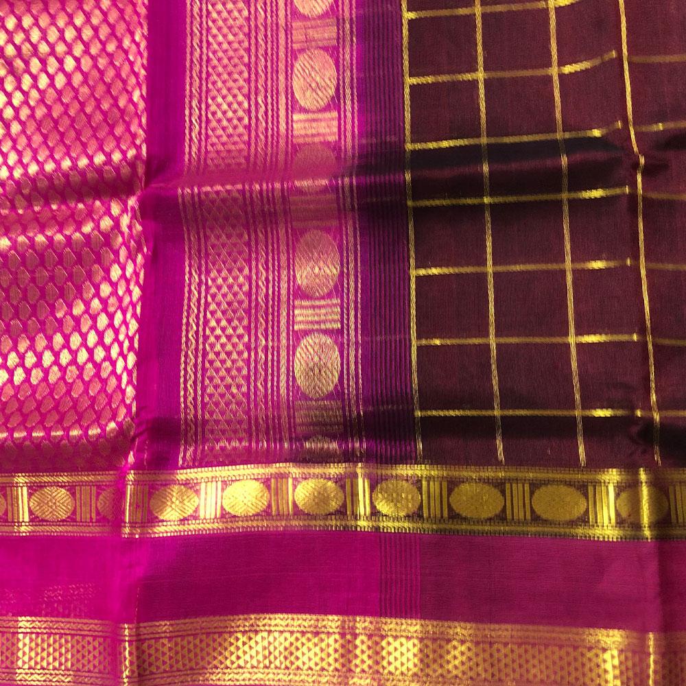Kanchipuram Silk Cotten Saree