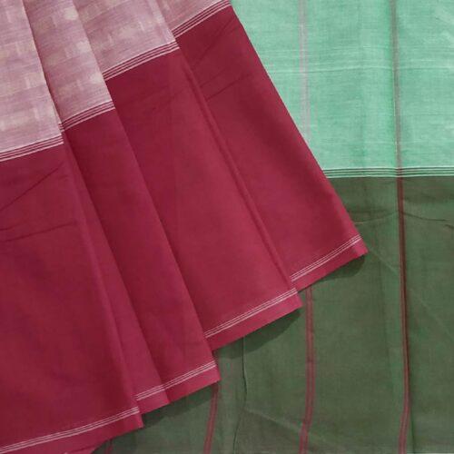 Light Pink Cotton Saree