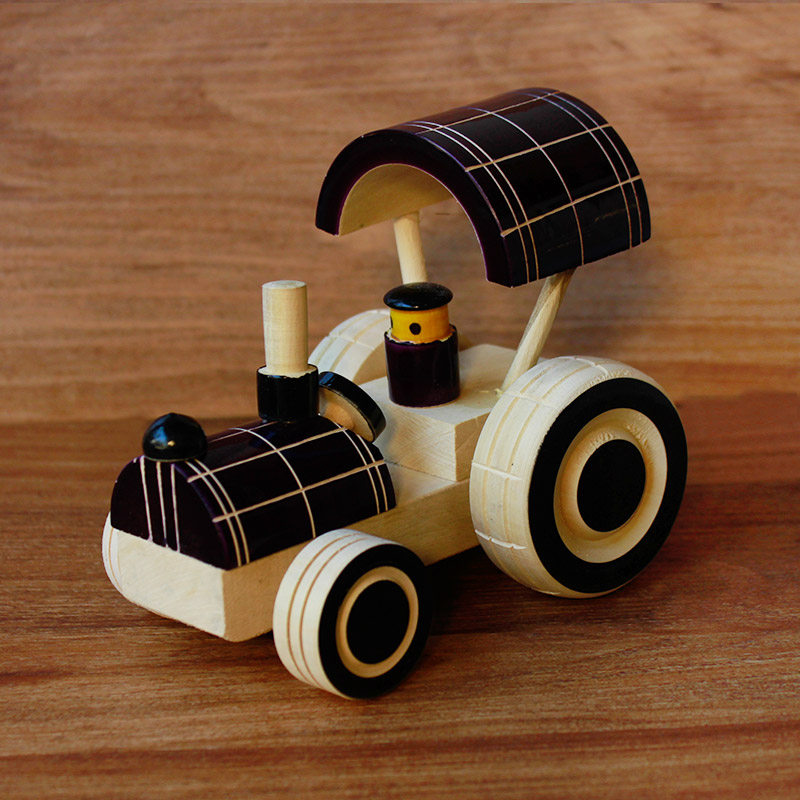 Wooden Tractor Toy